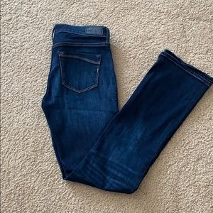Express Barely Boot Jeans. Size 2R